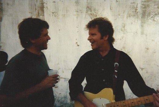 Wesley Markham with John Fogerty
