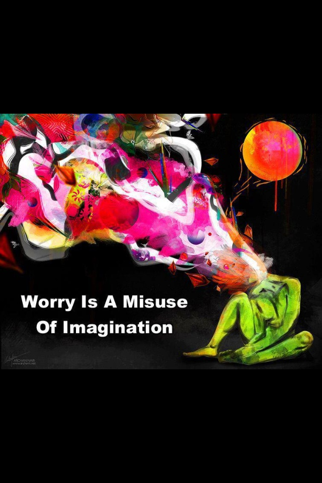 worry is